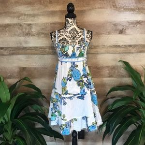 Free People Summer Time Floral Dress